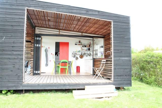 wooden Garden house cabin style (3)