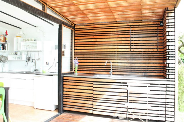 wooden Garden house cabin style (6)