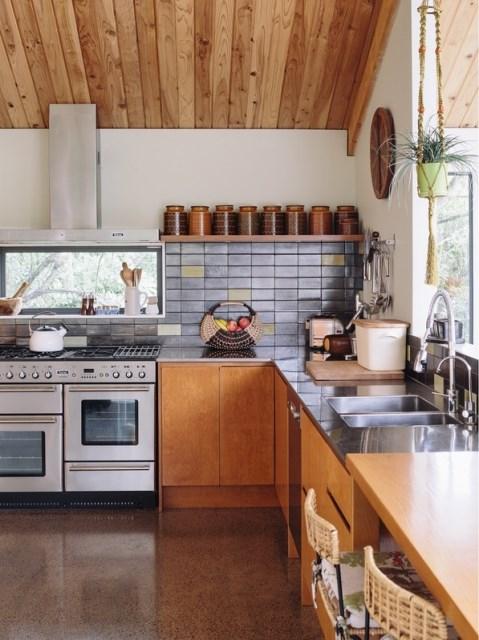 wooden Modern home loft style (13)
