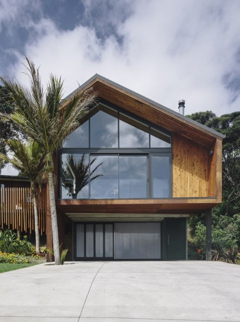 wooden Modern home loft style (17)