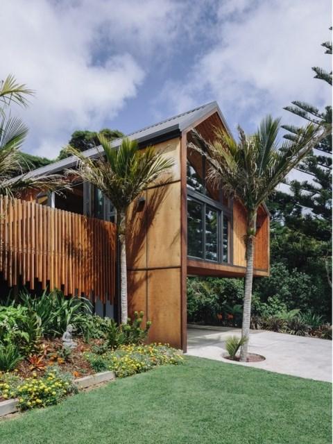 wooden Modern home loft style (2)