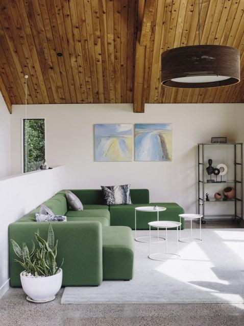 wooden Modern home loft style (4)
