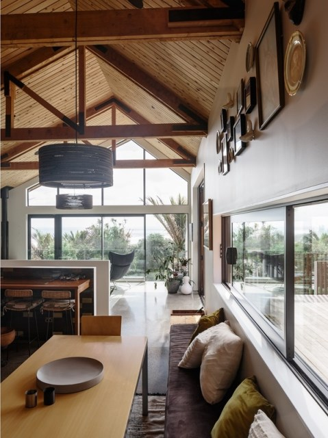wooden Modern home loft style (9)