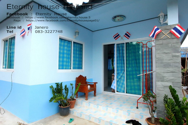 1 floor small blue house in 400k bht (3)