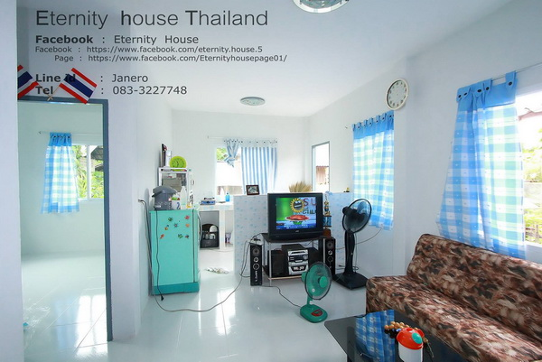 1 floor small blue house in 400k bht (4)