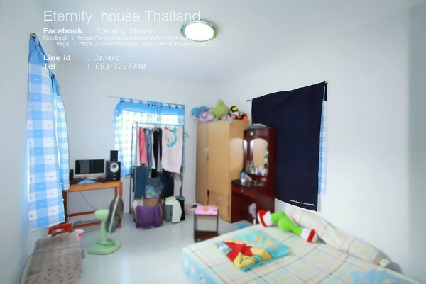 1 floor small blue house in 400k bht (6)
