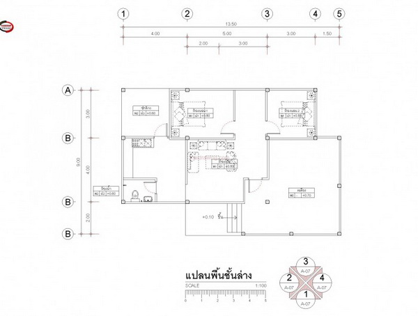 1 floor thai lifted up house in 800k bht (4)