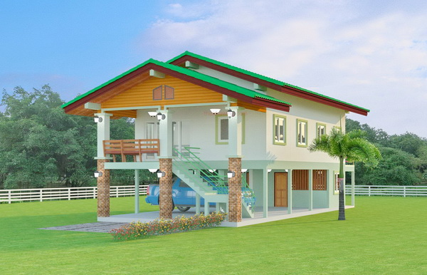 1 half floor thai contemporary 3 bedroom house (1)