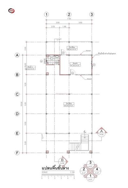 1 half floor thai contemporary 3 bedroom house (2)