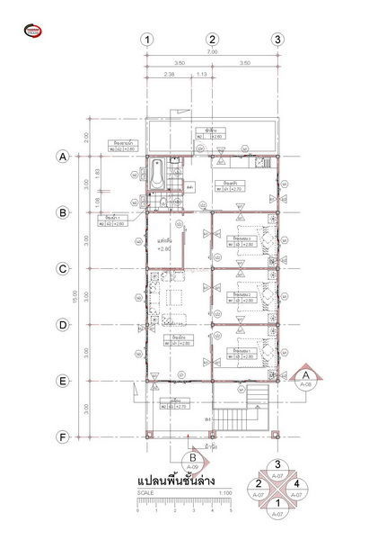 1 half floor thai contemporary 3 bedroom house (3)