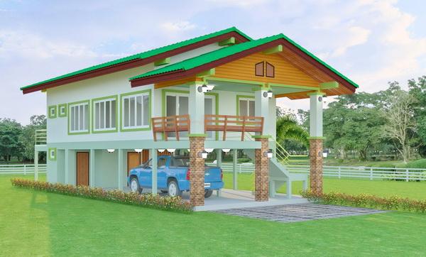 1 half floor thai contemporary 3 bedroom house (4)