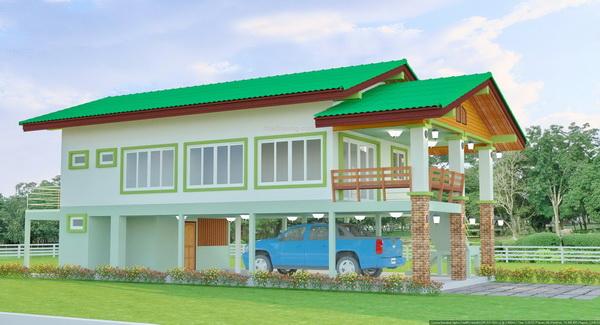 1 half floor thai contemporary 3 bedroom house (5)