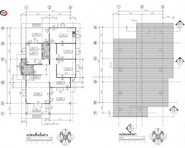 1 storey 3 bedroom thai contemporary house (4)