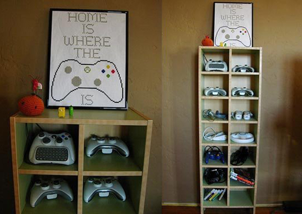 15-cool-ways-to-video-game-controller-storage (10)