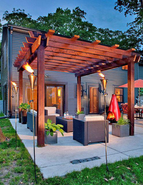 18 ideas gardens with terrace (1)
