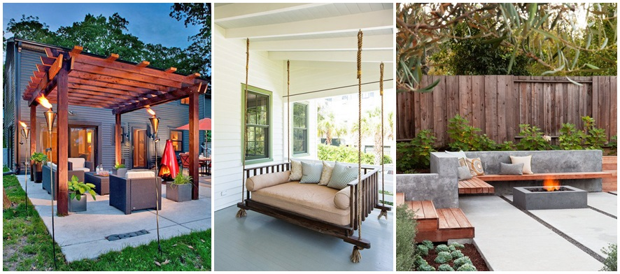 18 ideas gardens with terrace (16)