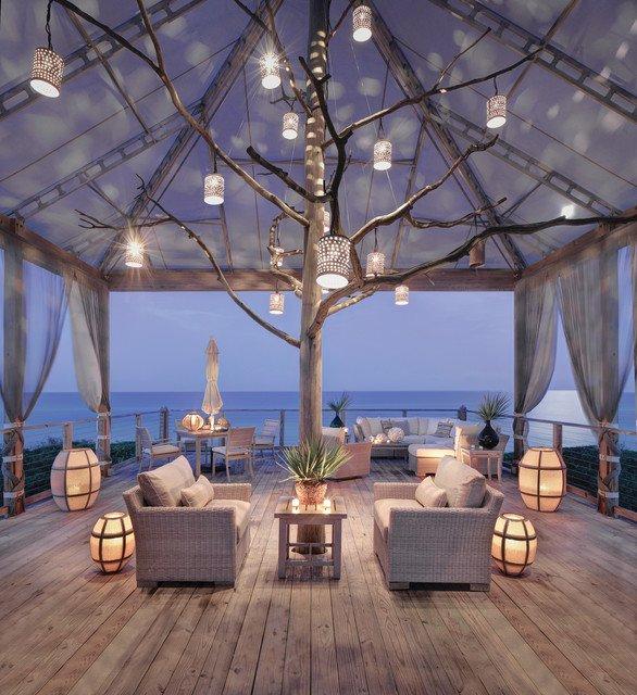 18 ideas gardens with terrace (6)