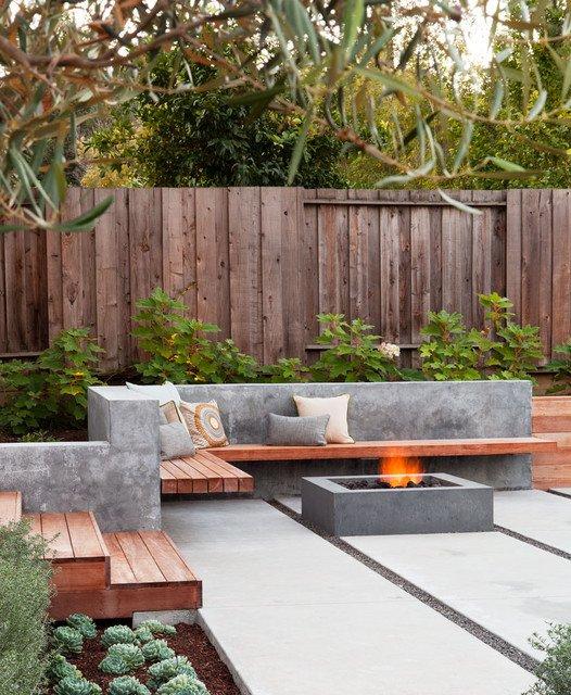18 ideas gardens with terrace (8)