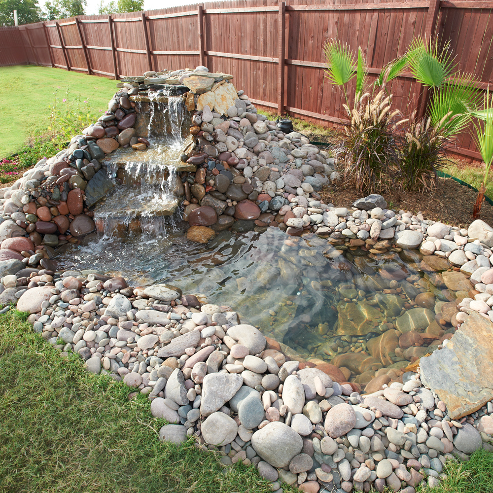20 d i y for Diy pond liner ideas