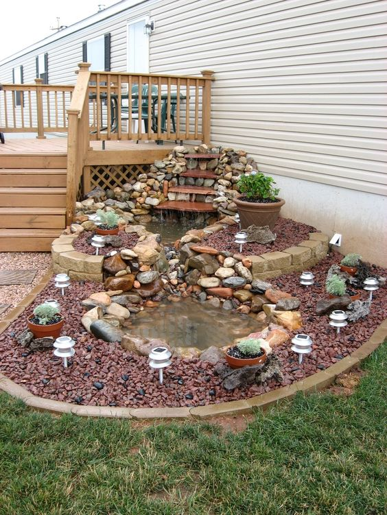 20 d i y for Small koi pond design ideas