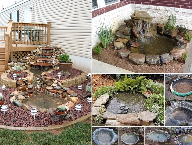 20 d i y for Fish pond cover ideas