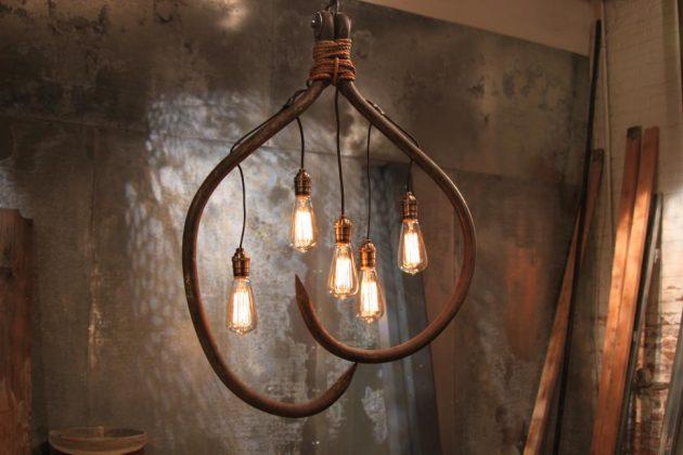 20 ideas lamp handmade designs industrial style (1)