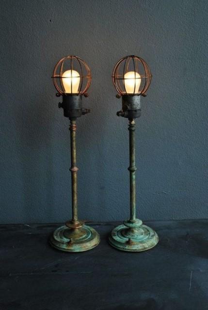 20 ideas lamp handmade designs industrial style (11)