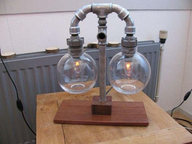 20 ideas lamp handmade designs industrial style (2)