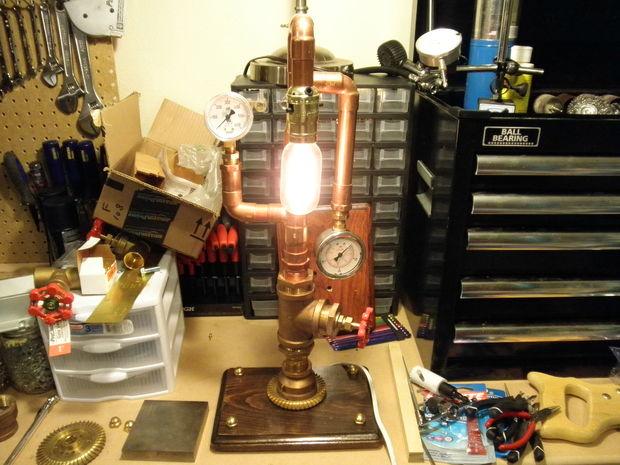 20 ideas lamp handmade designs industrial style (20)