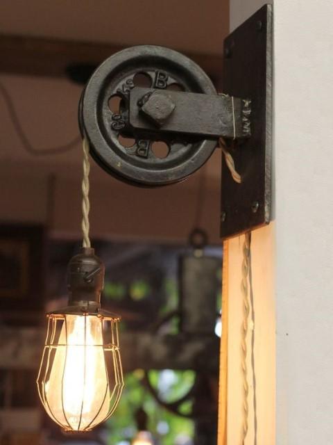 20 ideas lamp handmade designs industrial style (5)