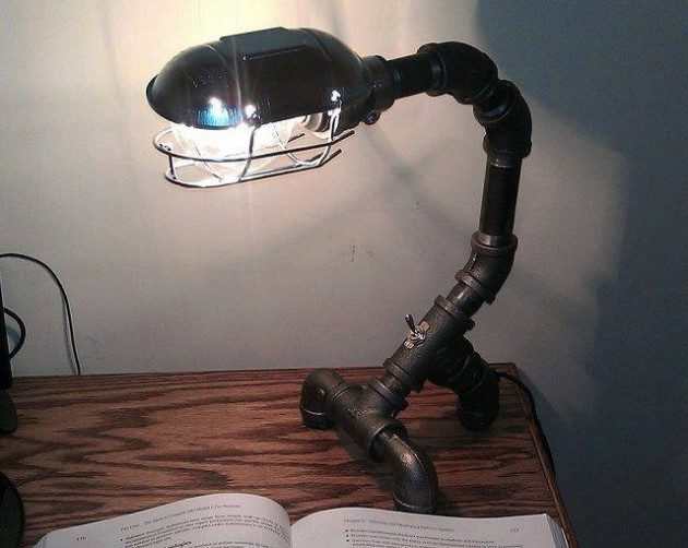 20 ideas lamp handmade designs industrial style (6)