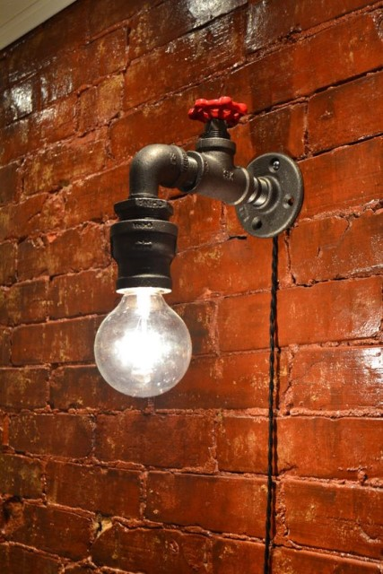 20 ideas lamp handmade designs industrial style (7)