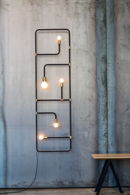 20 ideas lamp handmade designs industrial style (8)