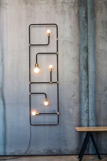 20 ideas lamp handmade designs industrial style (8)
