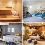 26 ไอเดียห้องนอนสมัยใหม่ มาพร้อมกับการดีไซน์เตียงนอนสองชั้น หลากหลายสไตล์