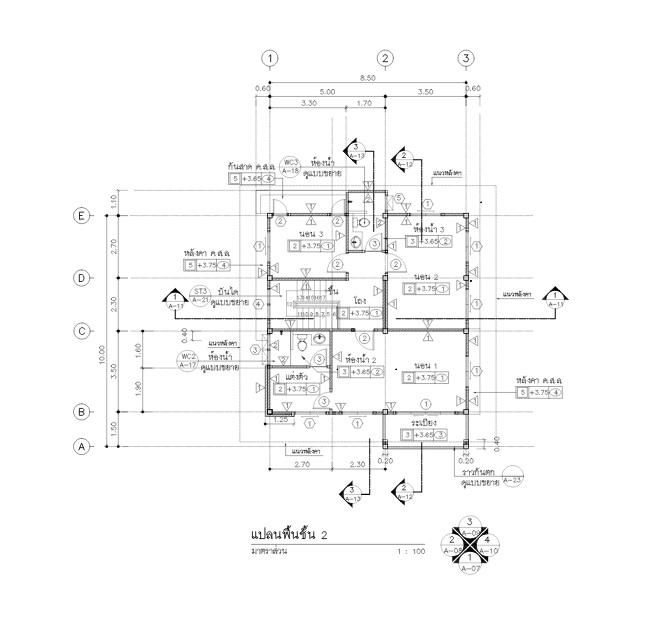 3 bedroom simple steady modern house (2)