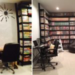 Review : สร้างห้องโครงเหล็ก สำหรับทำงาน อ่านหนังสือ และนั่งเล่น แยกออกมาจากตัวบ้าน