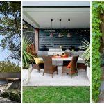 31 สวนหลังบ้าน ไอเดียที่ออกแบบร่วมกับเฉลียงบ้าน แชร์ฟังก์ชันง่ายดาย ตกแต่งพร้อมพรรณไม้ร่มรื่น