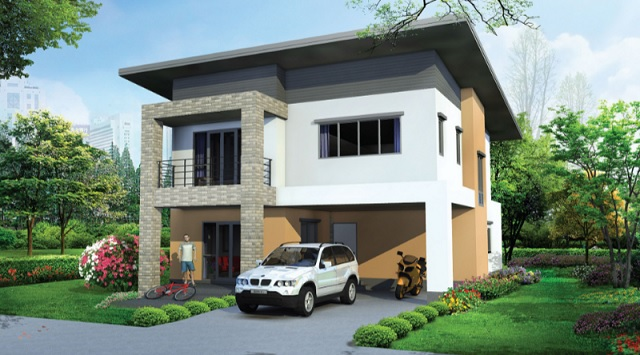 4 bedroom well decorated modern house (1)