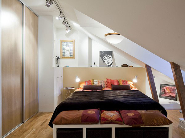 44 inspirational ideas for small bedroom (10)