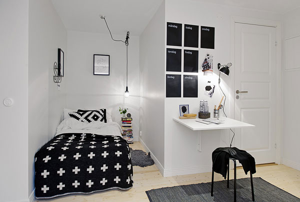 44 inspirational ideas for small bedroom (20)
