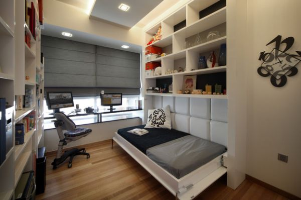 44 inspirational ideas for small bedroom (3)