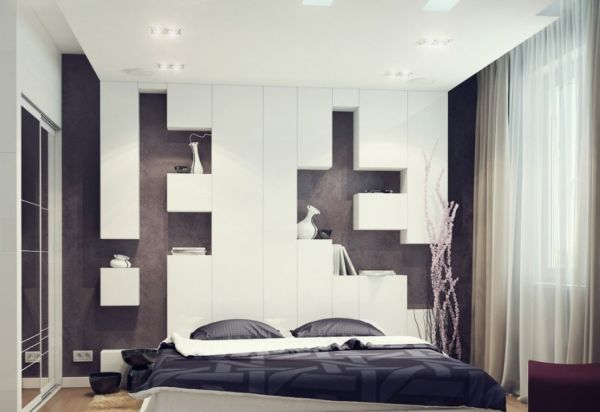 44 inspirational ideas for small bedroom (30)