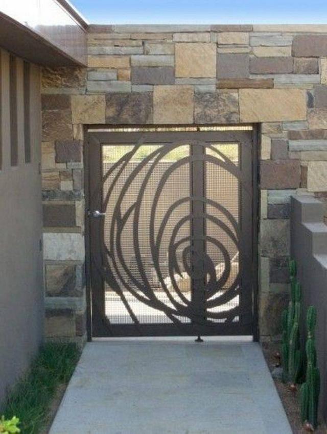 70 beautiful doors and fences ideas (23)