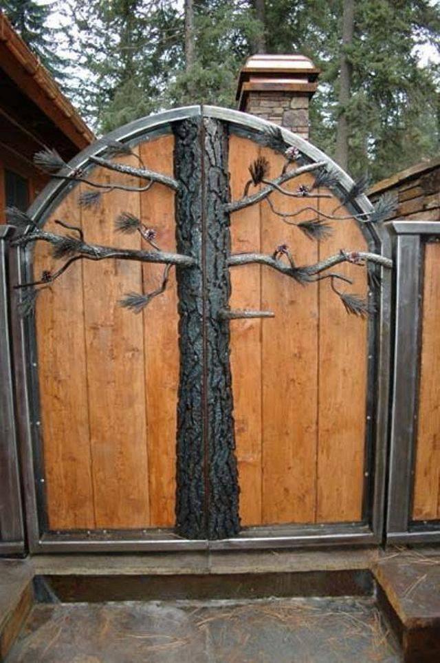 70 beautiful doors and fences ideas (41)