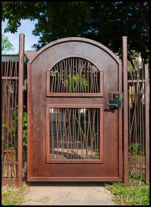 70 beautiful doors and fences ideas (42)