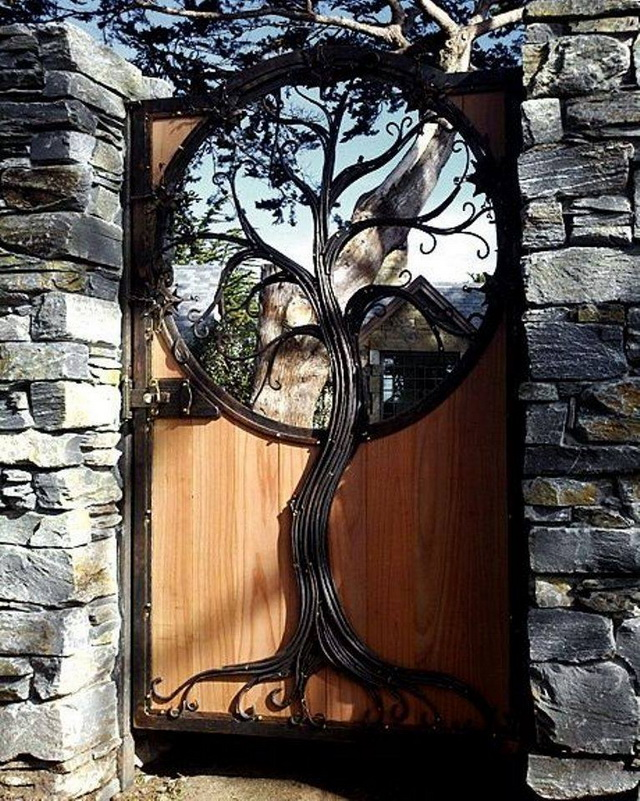 70 beautiful doors and fences ideas (51)