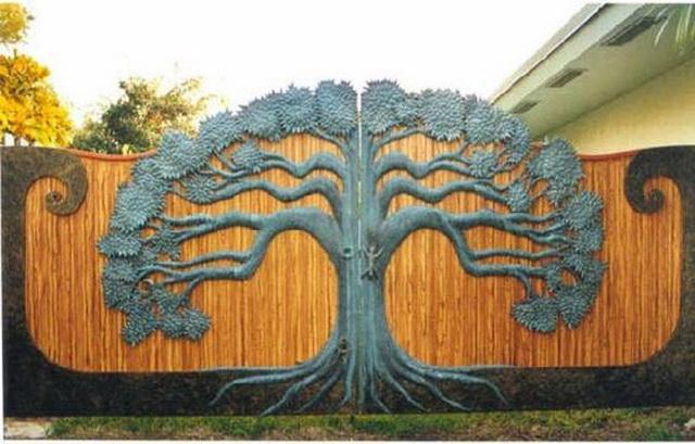 70 beautiful doors and fences ideas (53)