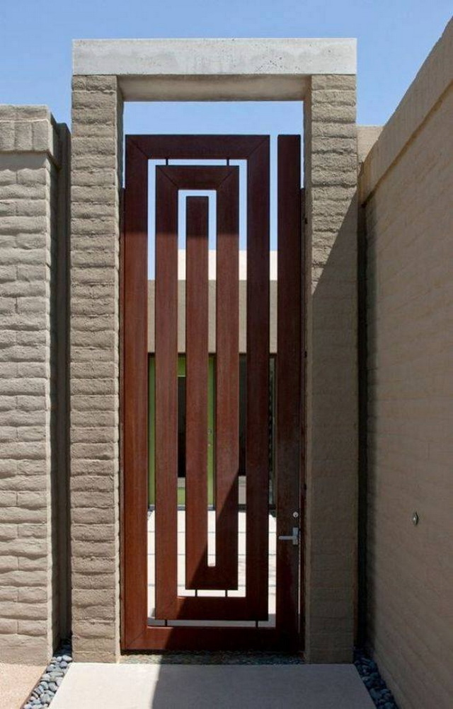 70 beautiful doors and fences ideas (62)