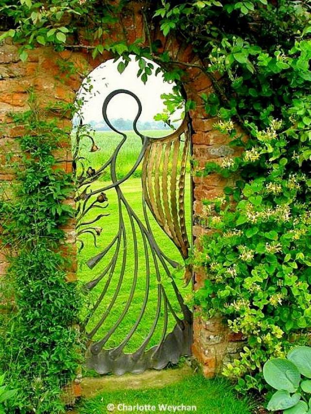 70 beautiful doors and fences ideas (69)